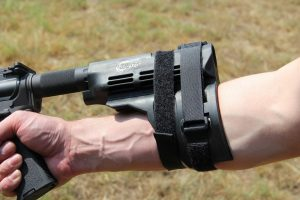 The Firearm Blog demonstrates how to use the SIG SB-15 stabilizing brace.