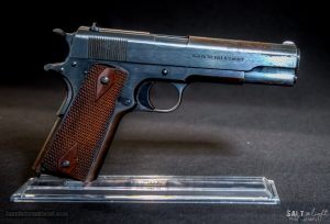 A WWI Colt 1911, circa 1917. Image courtesy of Guns International